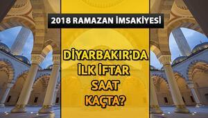 Diyarbakırda ilk iftar saat kaçta 2018 Diyarbakır iftar saatleri