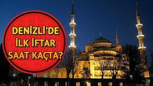 Denizli'de ilk iftar saat kaçta 2018 Denizli Ramazan imsakiyesi