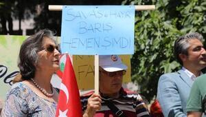Muğlada CHPden İsrail ve ABD protestosu
