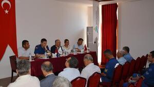 Adrasanda turizm güvenliği toplantısı