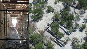 Ortaya çıkarıldı: Hava saldırısına dayanaklı terör yuvası