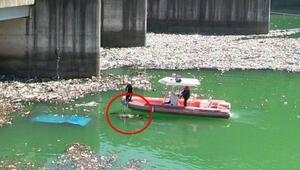 Çöp barajında ceset
