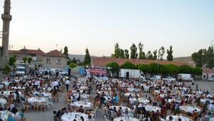 Bünyanda 8 mahallede toplu iftar programı