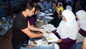 İbradıda el ele gönül gönüle iftarlar