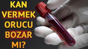 Diyanete göre kan vermek orucu bozar mı