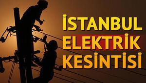 İstanbulda elektrik kesintisi... Elektrikler ne zaman gelecek