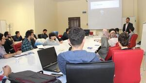 Erciyes Teknoparkta meetup programı düzenlendi