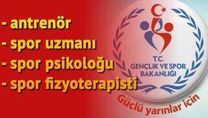 Gençlik ve Spor Bakanlığı personel alımı başvurusu nasıl yapılır