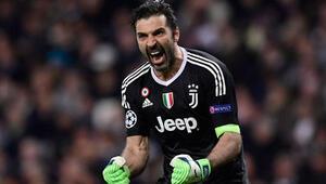Buffondan Juventusa veda