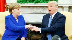 Trump'tan Merkel'e 'desteği kes' baskısı