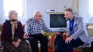 Başkan Ertürk, köyde yaşayan vatandaşları yalnız bırakmıyor