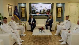 Komutanlar Başkan Türeli ziyaret etti