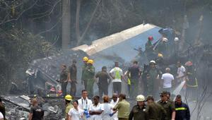 Kübadan düşen uçakla ilgili resmi açıklama