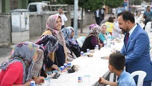 Sarıçam Belediyesi iftar sofraları başladı