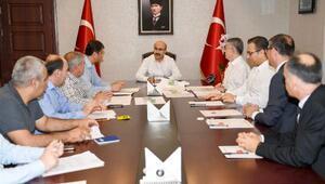 Vali Demirtaş başkanlığında 'Adana Lezzet Festivali' toplantısı
