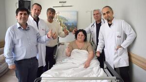 Almanyadan obezite ameliyatı için Gaziantepe geldi