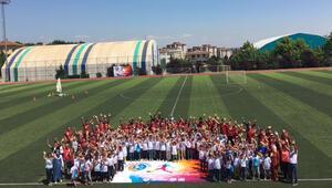 'Futbol Kardeşliği Projesi'ne şenlikli kapanış