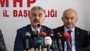 MHPli Büyükataman: İllet ittifakının ortak özelliği Demirtaş sevdası