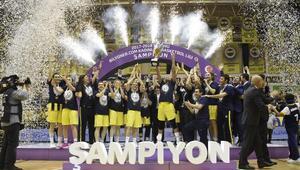 KBSLde şampiyon Fenerbahçe (FOTOĞRAFLAR)