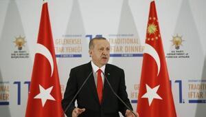 Erdoğan: ABDnin eline Filistinli çocukların kanı bulaşmıştır