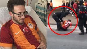 Polis köpeğinin ısırdığı taraftara Galatasaray'dan jest
