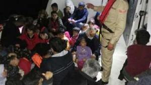 İzmir ve Aydında 364 kaçak göçmen yakalandı