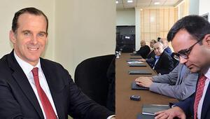 Süleymaniyede 4 siyasi partiyle görüştü