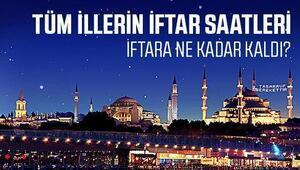 İstanbul, Ankara, İzmirde iftar saat kaçta açılacak İşte tüm illerin iftar ve sahur saatleri