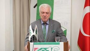 Bursaspor Başkanı Ali Ay ziyaretlerine devam ediyor