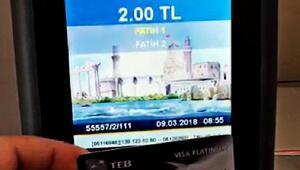 Ulaşımda kredi kartı dönemi