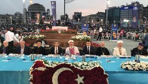 Hoşgörü dini İslamın iftar sofrası Beyoğlu'nda kuruldu