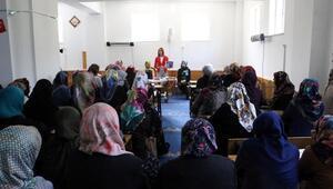 Boluda kadınlara eğitim