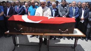 MKEdeki patlamada ölen işçi son yolculuğuna uğurlandı
