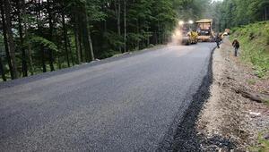 Büyükşehir Belediyesi Akkuşta 35 kilometre asfalt yol yaptı