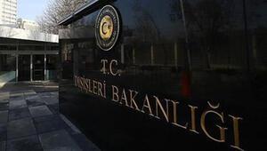 Dışişlerinden Türk gemisine saldırı açıklaması