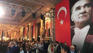 CHPnin seçim bildirgesini açıkladığı toplantıdan fotoğraflar