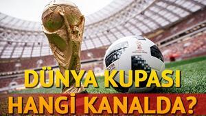 Dünya Kupası ne zaman hangi kanalda Hangi ülke hangi grupta