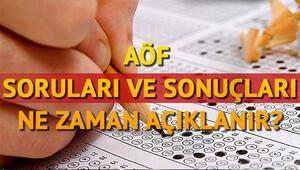 AÖF sınav sonuçları ne zaman hangi gün açıklanacak Anadolu Üniversitesi tarih verdi mi