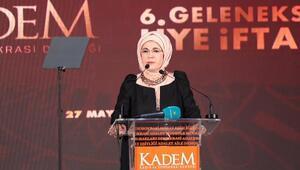 Emine Erdoğan KADEM 6. Geleneksel Üye İftarında konuştu