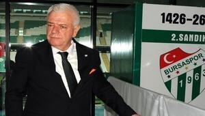 Bursasporda Ali Ay yeniden başkan