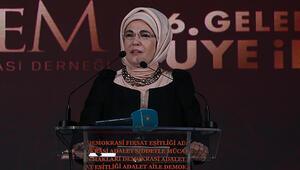 """Emine Erdoğan: """"Kadınlarımız 15 yıl öncesine göre çok daha iyi bir durumdalar"""""""