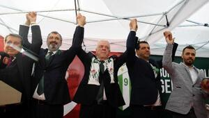 Bursasporda Başkan Ali Ay güven tazeledi - Fotoğraflar