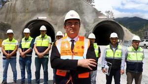 Avrupa'nın en uzunu olacak Zigana Tüneli'nde yarıya gelindi