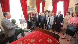 Büyükelçiler, Edirne Belediye Başkanı Gürkanı ziyaret etti