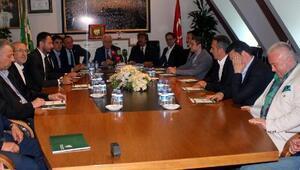 Bursasporda Başkan Ali Ay mazbatasını aldı