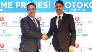 Türk Hava Yolları ve Emlak Konut GYO'dan işbirliği