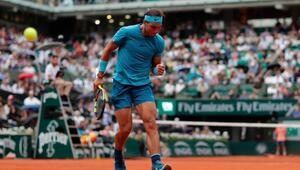 Nadal, Serena Williams ve Sharapova ikinci tura yükseldi