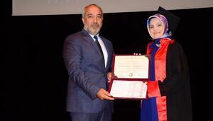 Sosyal Bilimler MYOda mezuniyet sevinci