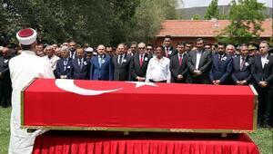 Şehit Uzman Çavuş, Ankaranın Haymana ilçesinde toprağa verildi