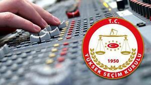 YSKden özel televizyon ve radyolara ilişkin karar